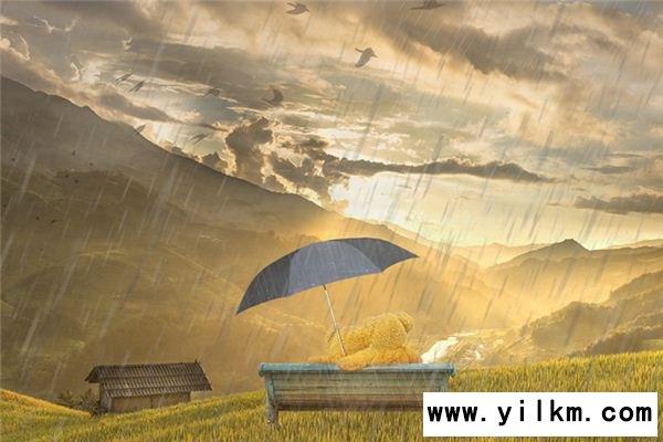 梦见太阳雨是什么意思