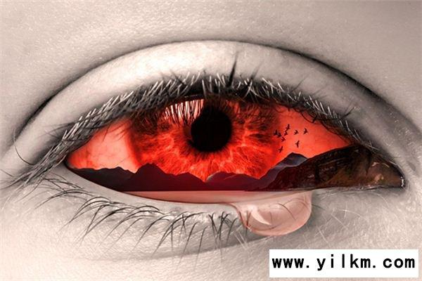梦见眼睛流血是什么意思